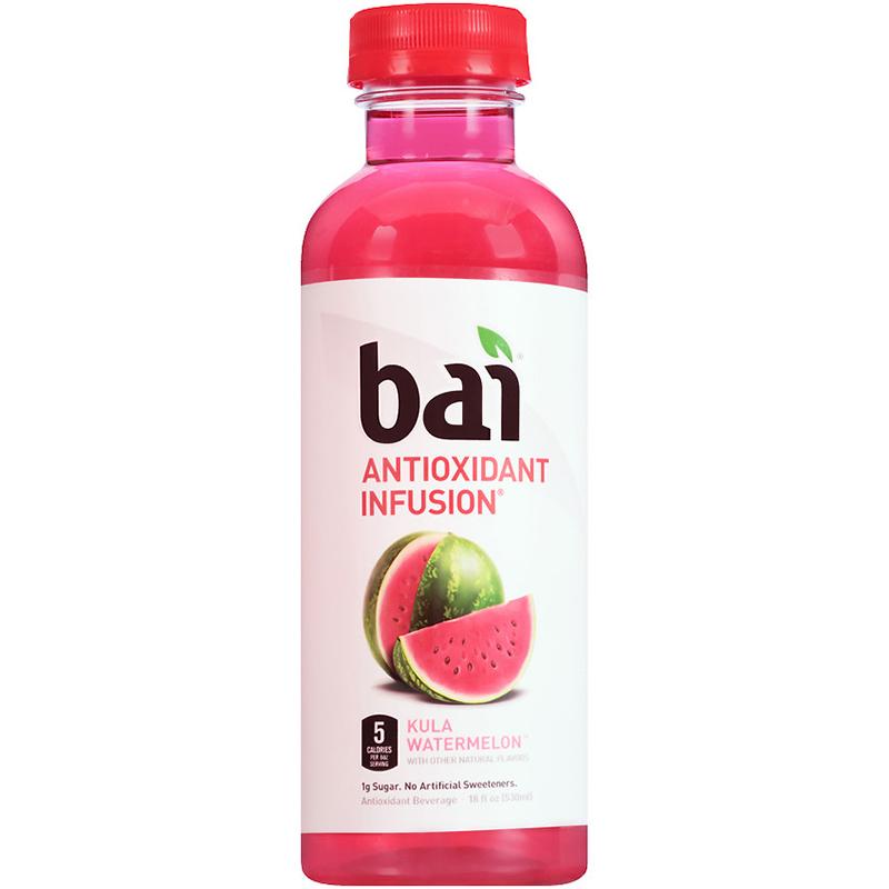 BAI - ANTIOXIDANT SUPERTEA - NON GMO - GLUTEN FREE - VEGAN - (Kula Watermelon) - 18oz