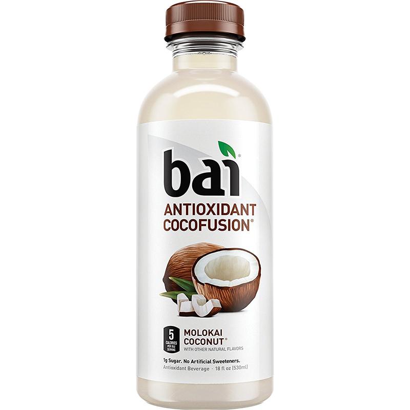 BAI - ANTIOXIDANT SUPERTEA - NON GMO - GLUTEN FREE - VEGAN - (Molokai Coconut) - 18oz