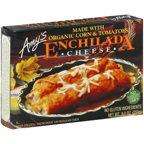 AMY'S - ENCHILADA CHEESE - NON GMO - (Made /w organic Corn & Tomateos) - 9oz