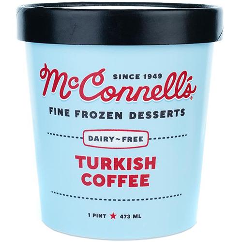 McCONNELL'S - FINE FROZEN DESSERTS - GLUTEN FREE - DAIRY FREE - (Turkish Coffee) - 16oz