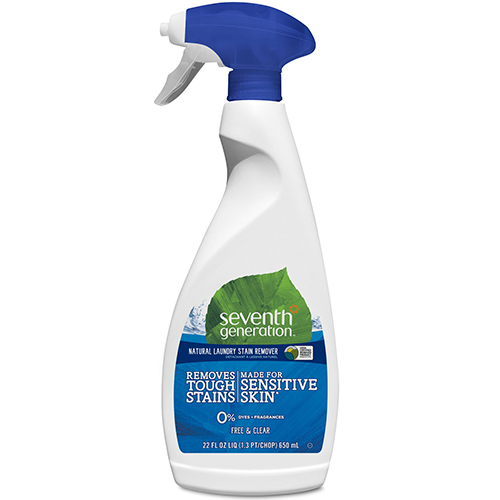SEVENTH GENERATION - NATURAL LAUNDRY STAIN REMOVER - (Free & Clear) - 22oz