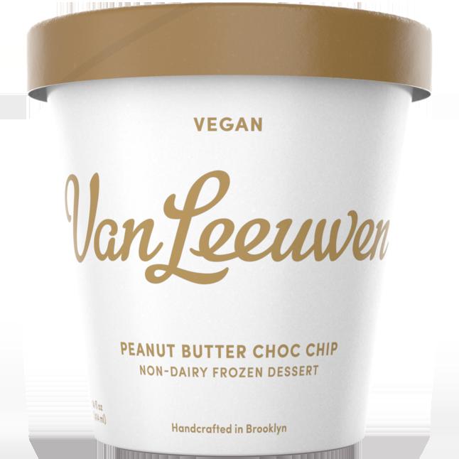 VAN LEEUWEN - VEGAN - (Peanut Butter Choc Chip) - 14oz