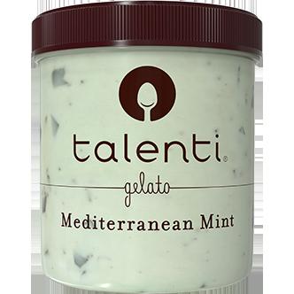 TALENTI - GELATO - GLUTEN FREE - (Mediterranean Mint) - 16oz