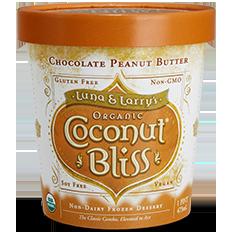 LUNA & LARRY'S - COCONUT BLISS - (Chocolate Peanut Butter) - 16oz