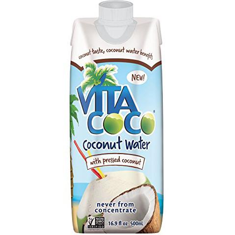 VITA COCO - PURE COCONUT WATER - (/w Pressed Coconut) - 16.9oz