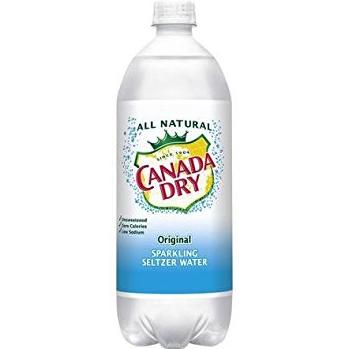 CANADA DRY - SPARKLING SELTZER WATER - (Original) - 1L