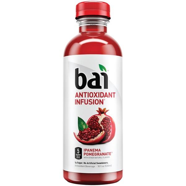 BAI - ANTIOXIDANT SUPERTEA - NON GMO - GLUTEN FREE - VEGAN - (Ipanema Pomegranate) - 18oz