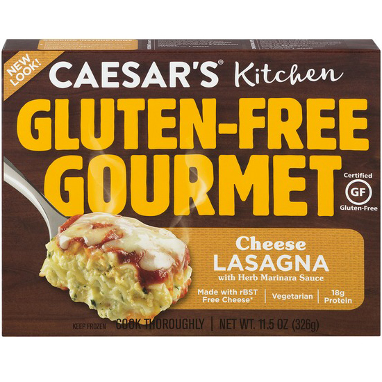 CAESAR'S KITCHEN - GLUTEN FREE GOURMET - (Cheese Lasagna) - 11.5oz