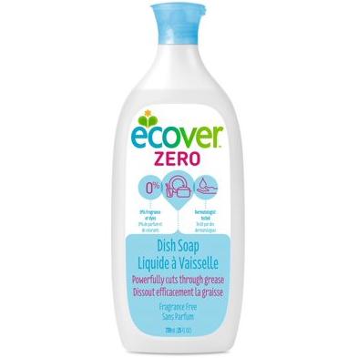 ECOVER - ZERO DISH SOAP - (Fragrance Free) - 25oz