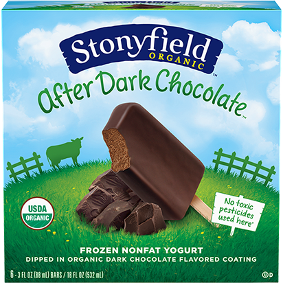 STONYFIELD - AFTER DARK CHOCOLATE - 18oz (6Bars)