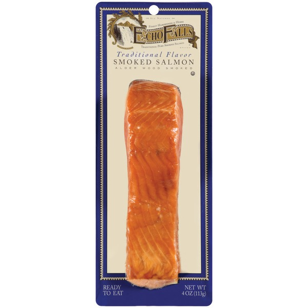 ECHO FALLS - SMOKED SALMON - (Traditional) - 4oz