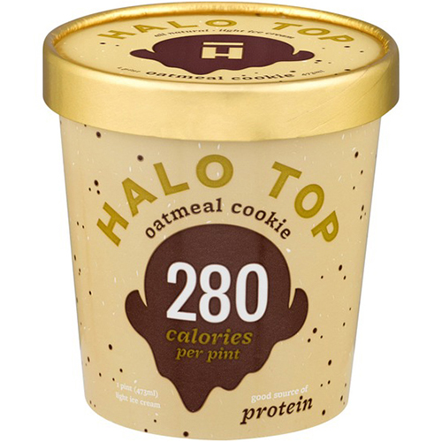 HALO TOP - OATMEAL COOKIE - 16oz