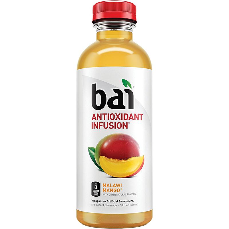 BAI - ANTIOXIDANT SUPERTEA - NON GMO - GLUTEN FREE - VEGAN - (Malawi Mango) - 18oz