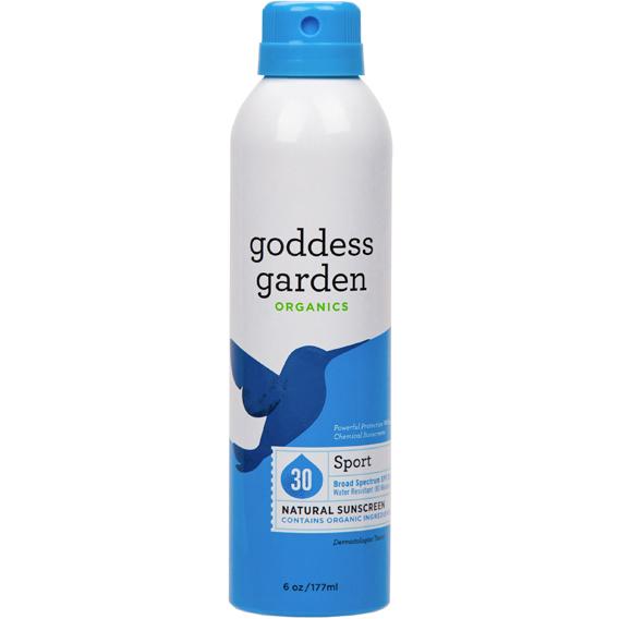 GODDESS GARDEN - SPORT SPF 30 - (Natural Mineral Sunscreen) - 6oz