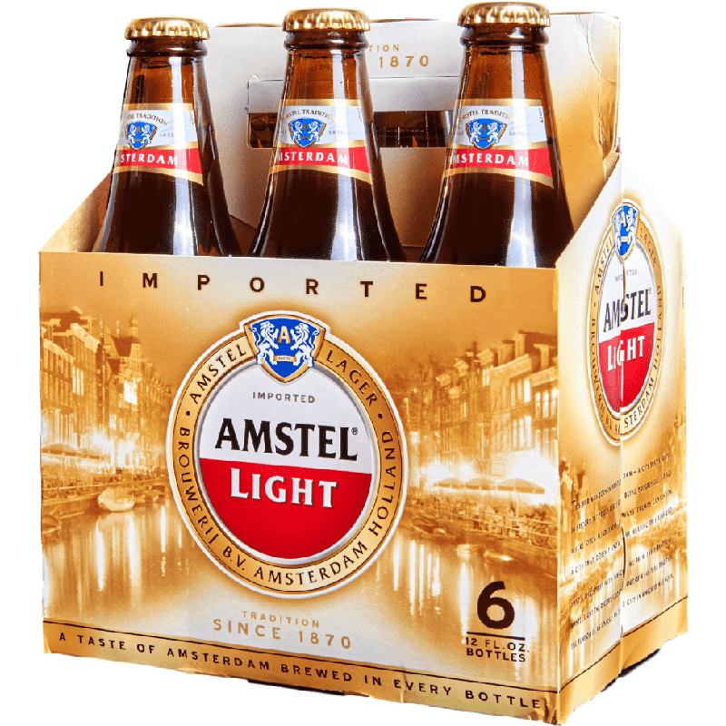 AMSTEL LIGHT - (Bottle) - 12oz(6PK)