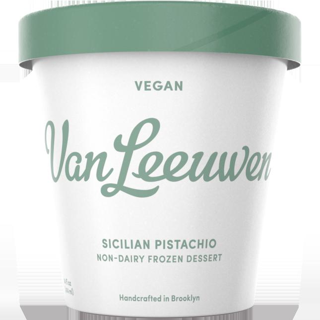 VAN LEEUWEN - VEGAN - (Sicilian Pistachio) - 14oz