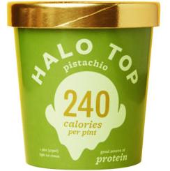 HALO TOP - PISTACHIO - 16oz