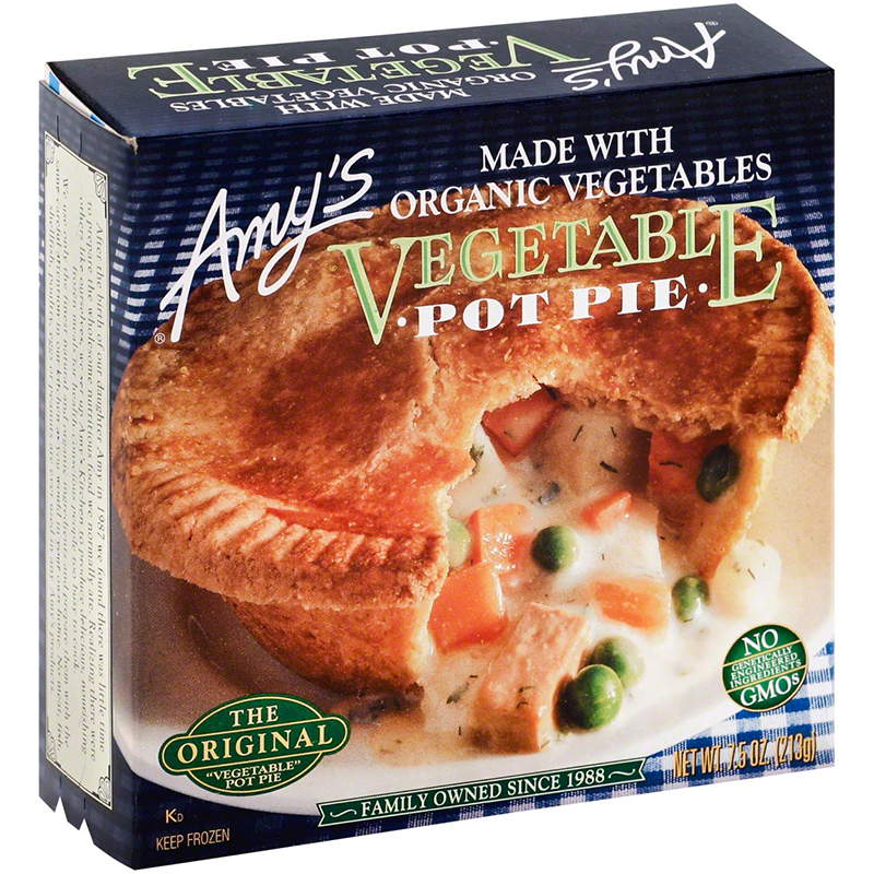 AMY'S - BROCCOLI POT PIE - NON GMO - 7.5oz