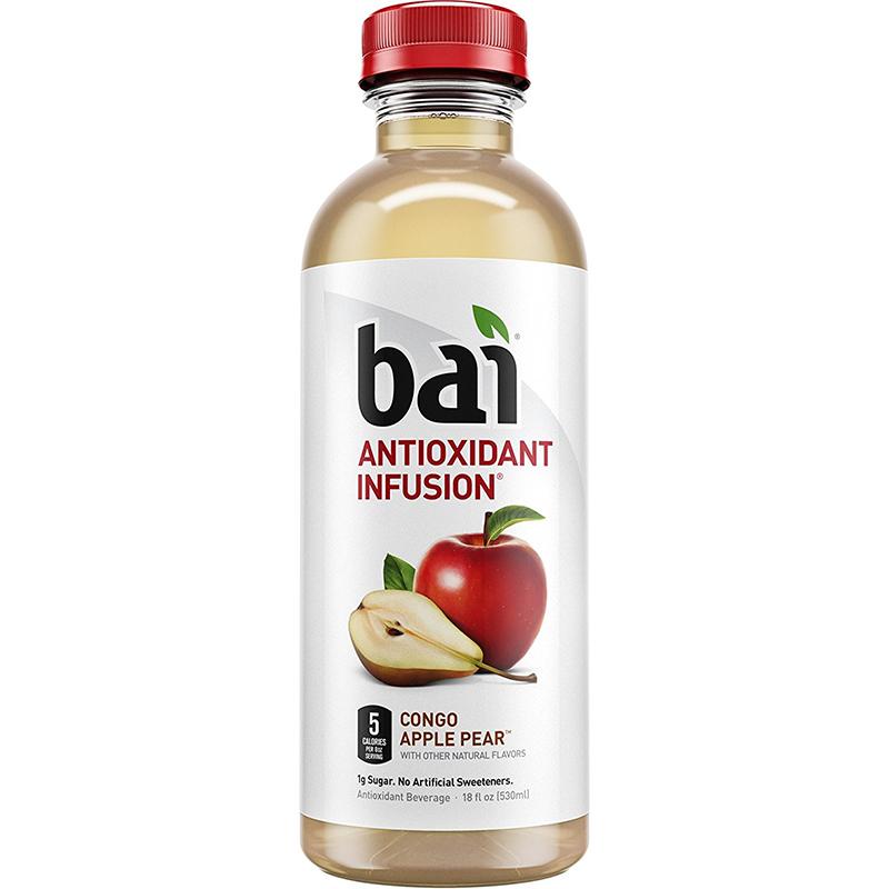BAI - ANTIOXIDANT SUPERTEA - NON GMO - GLUTEN FREE - VEGAN - (Congo Apple Pear) - 18oz