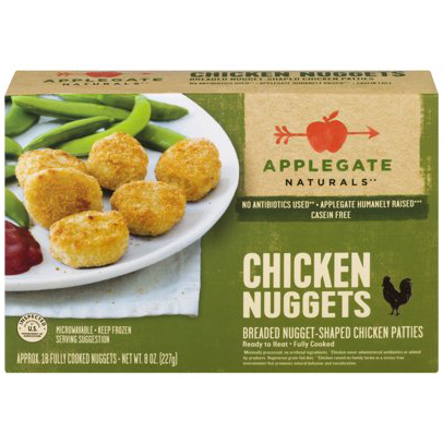 APPLEGATE - CHICKEN NUGGETS - 8oz