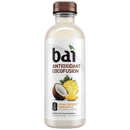 BAI - ANTIOXIDANT SUPERTEA - NON GMO - GLUTEN FREE - VEGAN - (Puna Coconut Pineapple) - 18oz