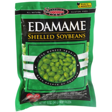 SEAPOINT FARMS - EDAMAME SHELLED SOYBEANS - GLUTEN FREE - 12oz