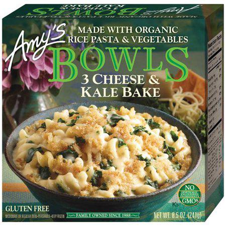 AMY'S - BOWLS 3CHEESE & KALE BAKE - NON GMO - 9.5oz