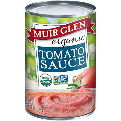 MUIR GLEN - ORGANIC TOMATO SAUCE - NON GMO - 15oz