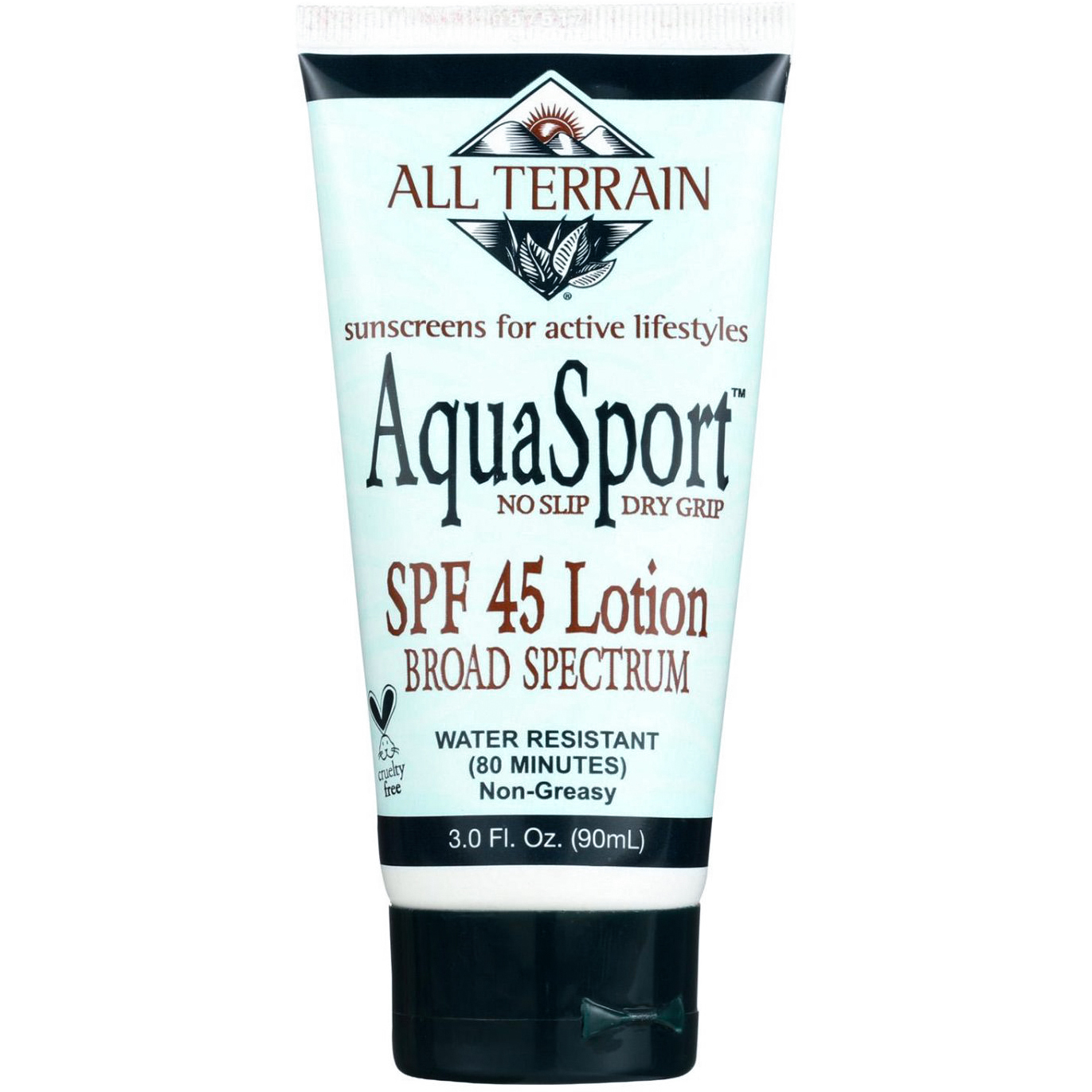 AQUA SPORT - SPF 45 LOTION BROAD SPECTRUM - 3oz