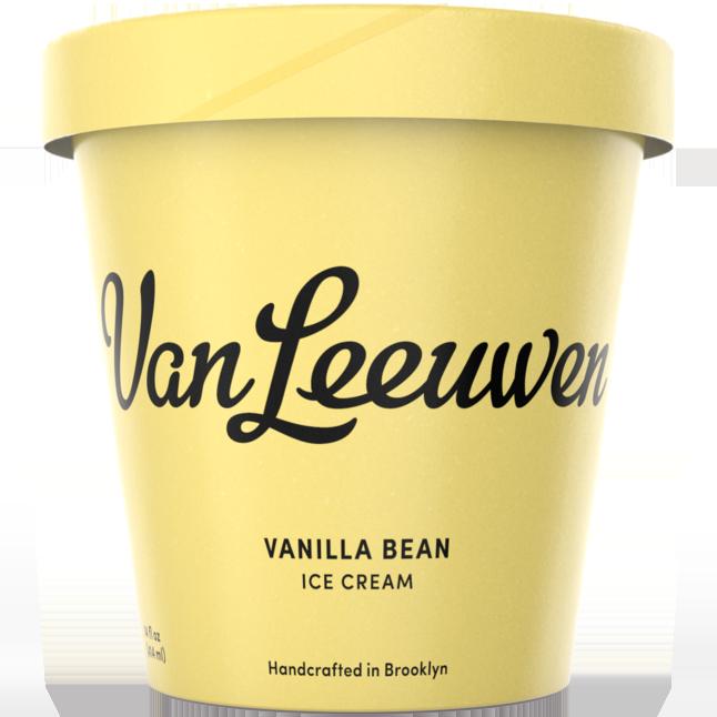 VAN LEEUWEN - (Vanilla Bean) - 14oz