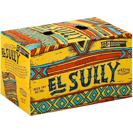 21st AMENDMENT BREWERY - EL SULLY - (Can) - 12oz(6PK)