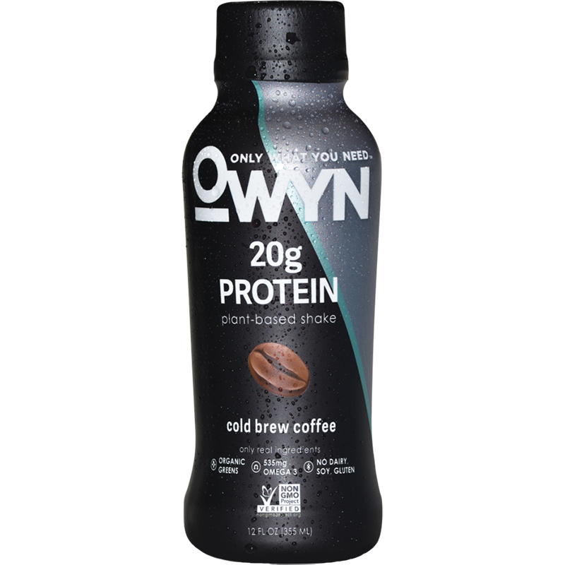 OWYN - 20g PROTEIN PLANT BASED DRINK - (Cold Brew Coffee) - 12oz