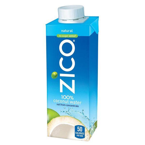 ZICO - 100% COCONUT WATER - NON GMO - GLUTEN FREE - 8.45oz