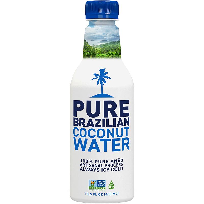 PURE BRAZILIAN - COCONUT WATER - NON GMO - 13.5oz