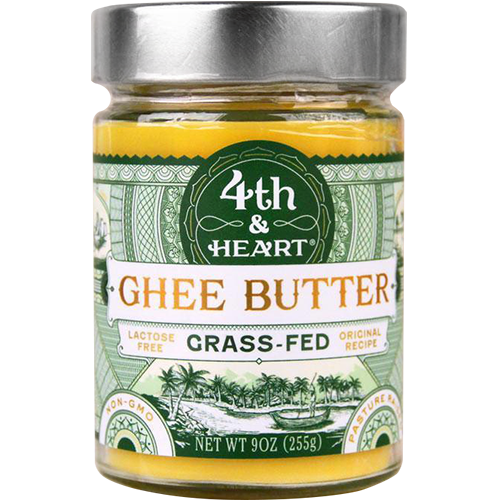 4TH & HEART - GHEE BUTTER - (Grass Fed) - 9oz
