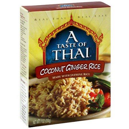 A TASTE OF THAI - GLUTEN FREE - NON GMO - (Coconut Ginger Rice) - 7oz