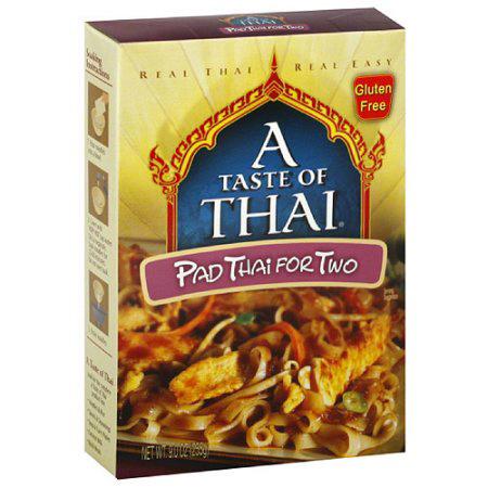 A TASTE OF THAI - GLUTEN FREE - NON GMO - (Pad Thai for Two) - 9oz