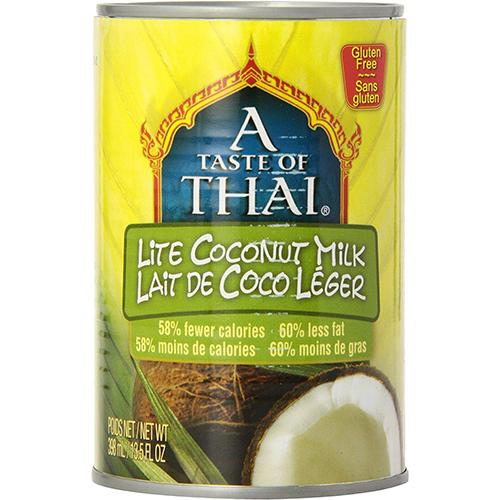 A TASTE OF THAI - LITE COCONUT MILK - (60% LESS FAT) - 13.5oz
