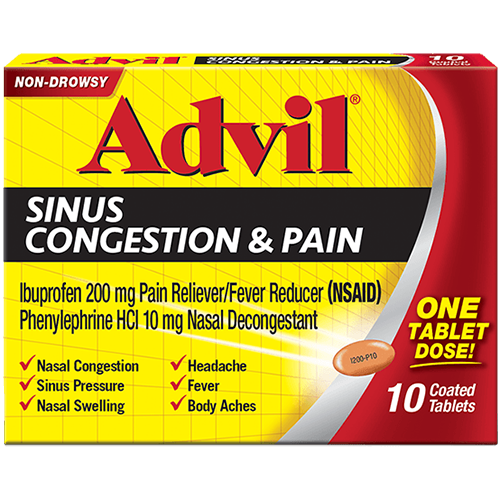 ADVIL - 10TABLETS