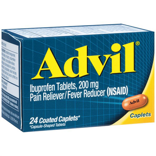 ADVIL - 24 COATED TABLETS