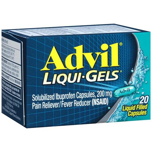 ADVIL  LIQUI · GELS - 20 COATED TABLETS