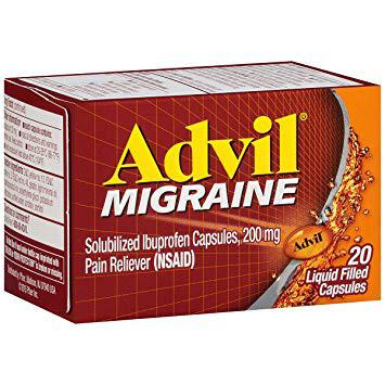 ADVIL  MIGRAINE - 20 COATED TABLETS