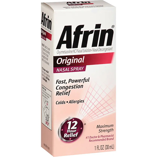 AFRIN - NASAL SPRAY - (Original) - 0.5oz