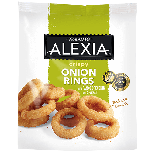 ALEXIA - CRISPY ONION RINGS - NON GMO - 11oz