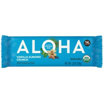 ALOHA - VANILLA ALMOND CRUNCH BAR - 1.9oz