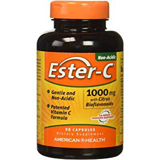 AMERICAN HEALTH - ESTER-C 1000MG - 90 CAPSULES