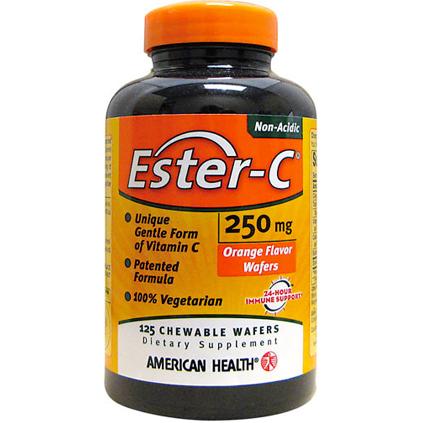 AMERICAN HEALTH - ESTER-C 250MG - 125 CAPSULES