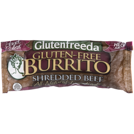 AMY'S - BURRITO - GLUTEN FREE - (Shredded Beef) - 6oz