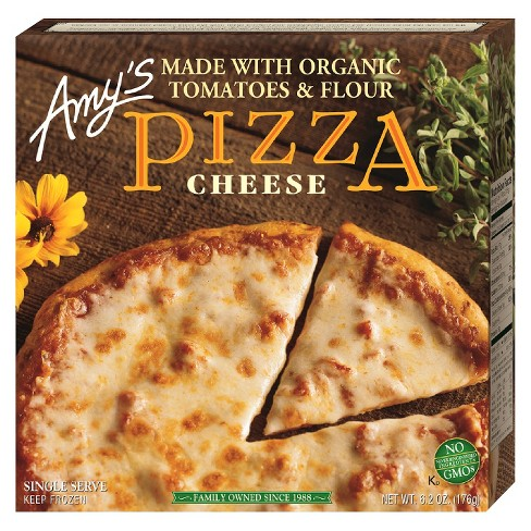 AMY'S - PIZZA - NON GMO - (Cheese) - 6.2oz