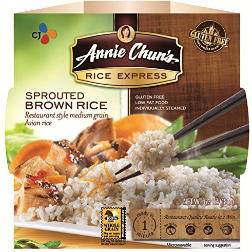 ANNIE CHUN'S - RICE EXPRESS - GLUTEN FREE - VEGAN - (Sprouted Brown Rice) - 6.3